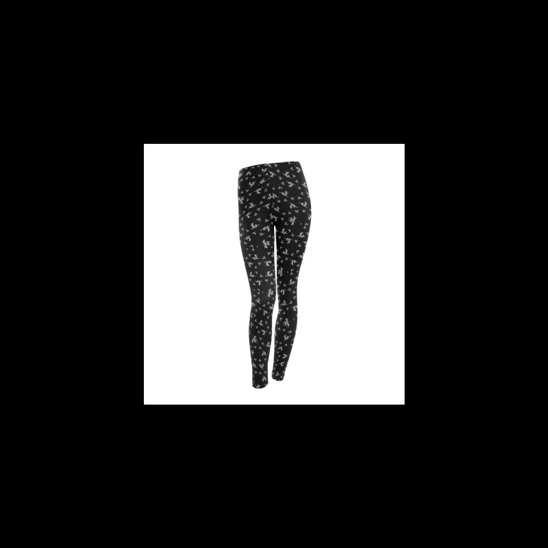 Deathforms Leggings Black Women's Bottoms by DEATHFORMS