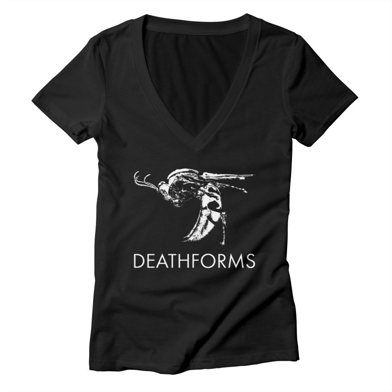 DEATHFORMS Women's Deep V-Neck V-Neck by DEATHFORMS