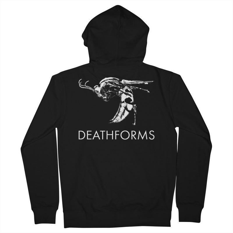 DEATHFORMS Men's French Terry Zip-Up Hoody by DEATHFORMS