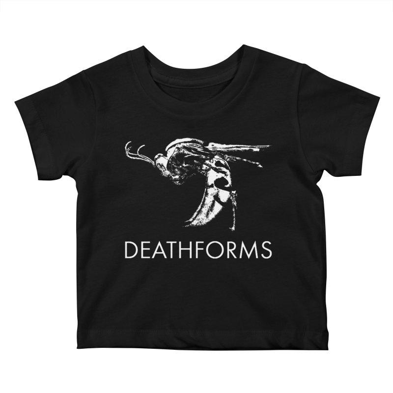 DEATHFORMS Kids Baby T-Shirt by DEATHFORMS