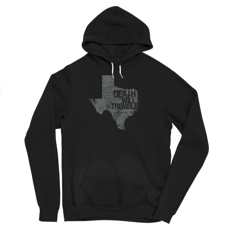 death and texas. Men's Sponge Fleece Pullover Hoody by DEATH WILL TREMBLE