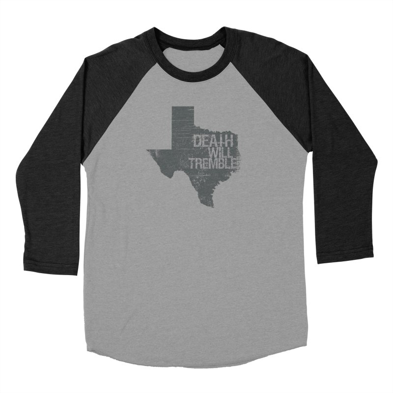 death and texas. Men's Baseball Triblend Longsleeve T-Shirt by DEATH WILL TREMBLE