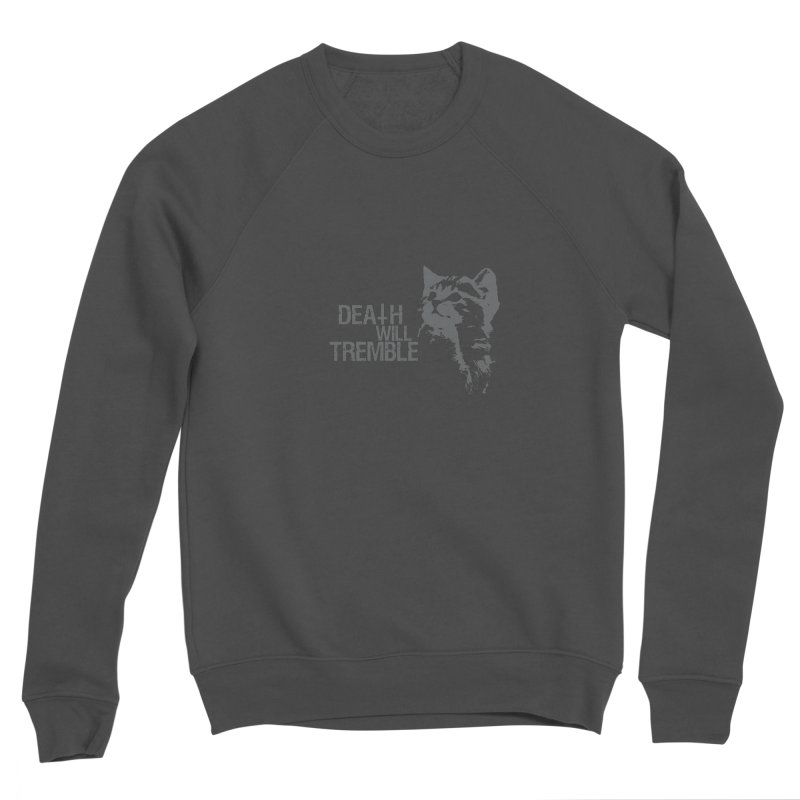 here kitty! Women's Sponge Fleece Sweatshirt by DEATH WILL TREMBLE
