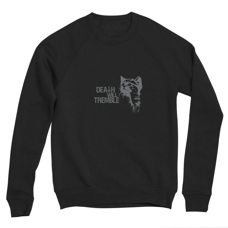 here kitty! Men's Sponge Fleece Sweatshirt by DEATH WILL TREMBLE