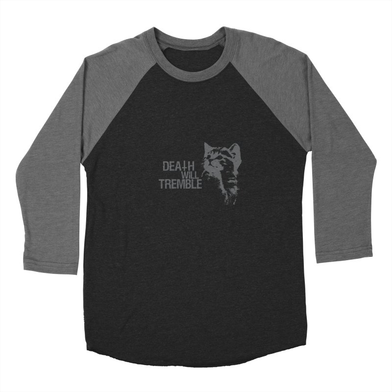 here kitty! Women's Baseball Triblend Longsleeve T-Shirt by DEATH WILL TREMBLE