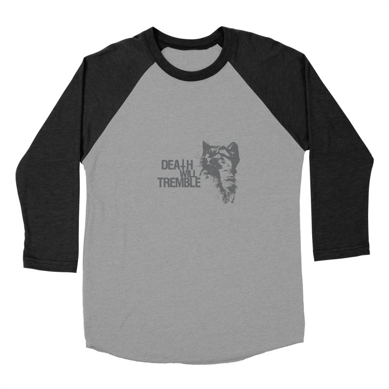here kitty! Men's Baseball Triblend Longsleeve T-Shirt by DEATH WILL TREMBLE