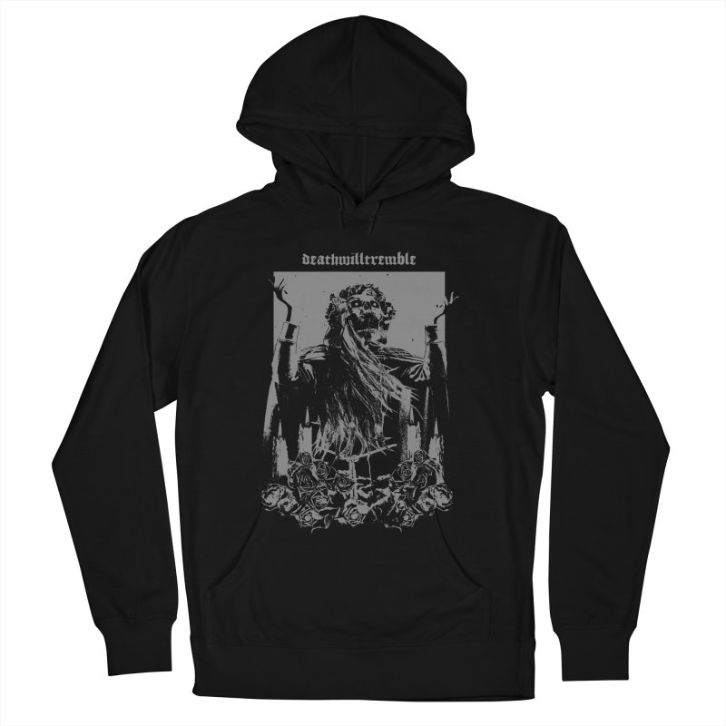 holy death. Men's French Terry Pullover Hoody by DEATH WILL TREMBLE