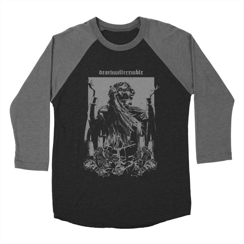 holy death. Women's Baseball Triblend Longsleeve T-Shirt by DEATH WILL TREMBLE