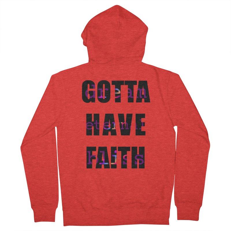 Gotta Have Faith - Light Merch Women's Zip-Up Hoody by Dream Eternal Bliss Merchandise