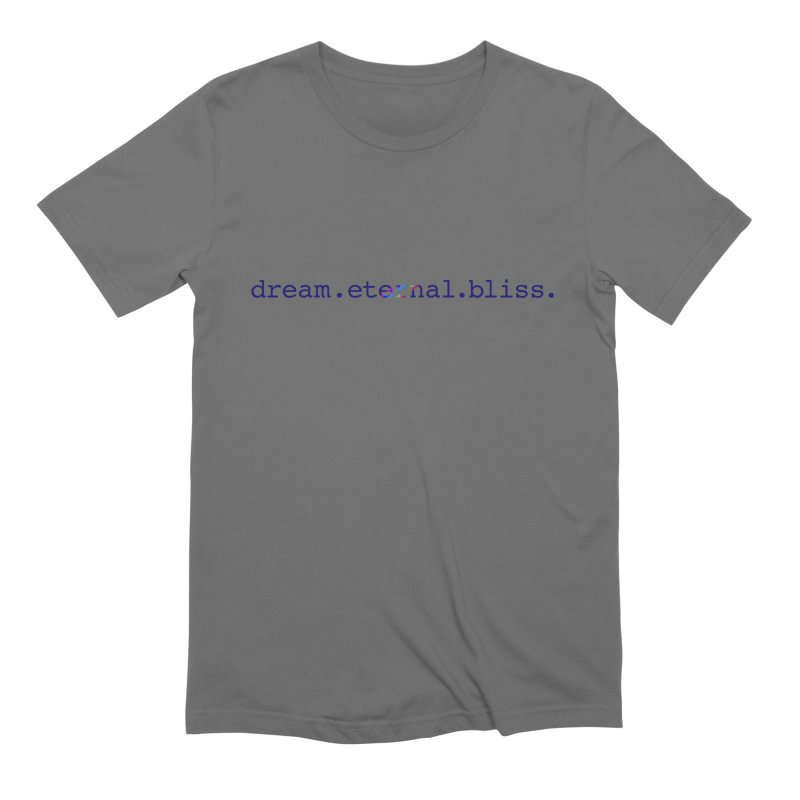 DEB Logo Men's T-Shirt by Dream Eternal Bliss Merchandise