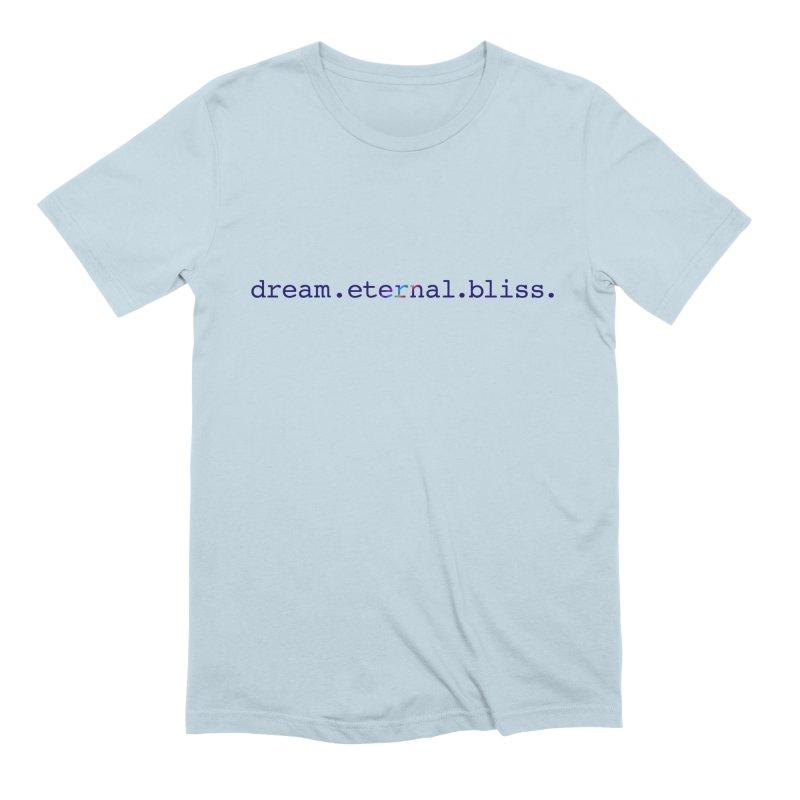 DEB Logo Men's Extra Soft T-Shirt by Dream Eternal Bliss Merchandise