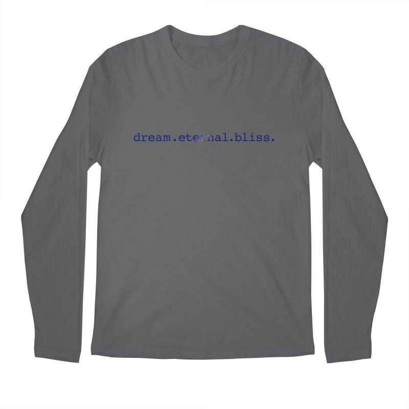 DEB Logo Men's Longsleeve T-Shirt by Dream Eternal Bliss Merchandise