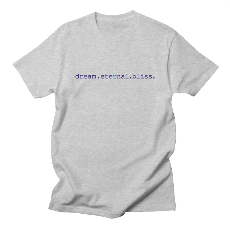 DEB Logo Men's Regular T-Shirt by Dream Eternal Bliss Merchandise