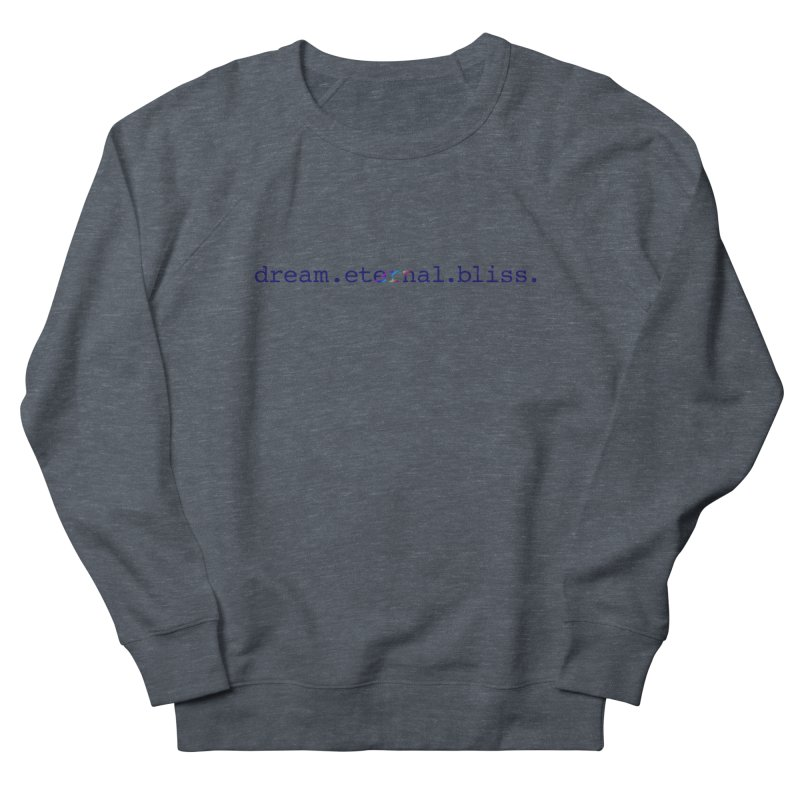 DEB Logo Women's Sweatshirt by Dream Eternal Bliss Merchandise