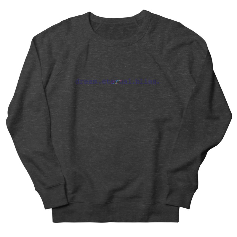 DEB Logo Men's Sweatshirt by Dream Eternal Bliss Merchandise