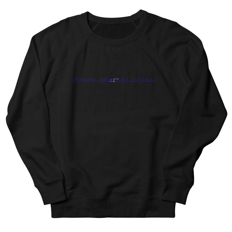DEB Logo Men's French Terry Sweatshirt by Dream Eternal Bliss Merchandise