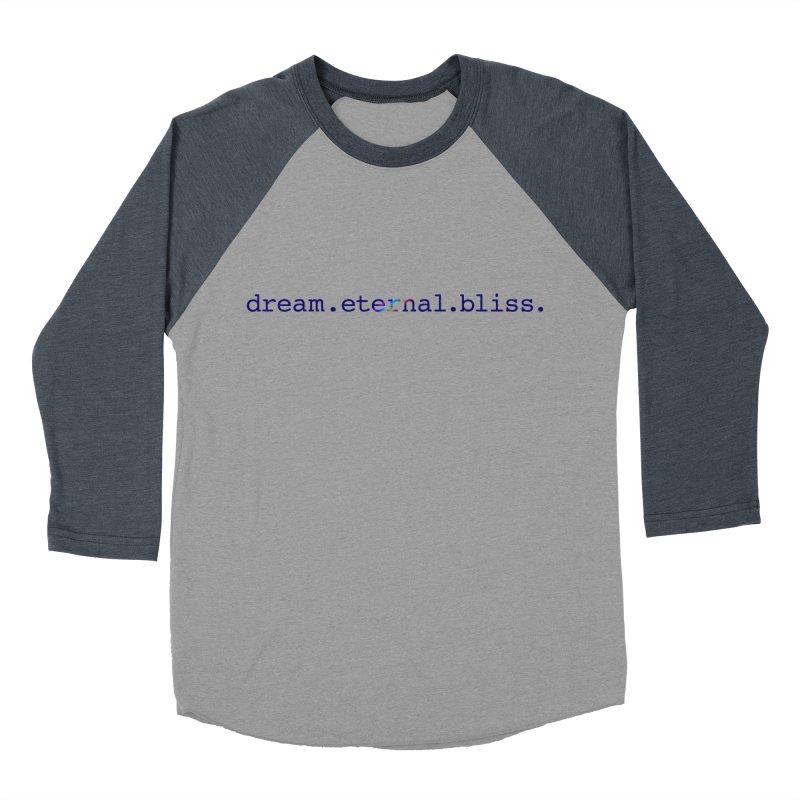 DEB Logo Men's Baseball Triblend Longsleeve T-Shirt by Dream Eternal Bliss Merchandise