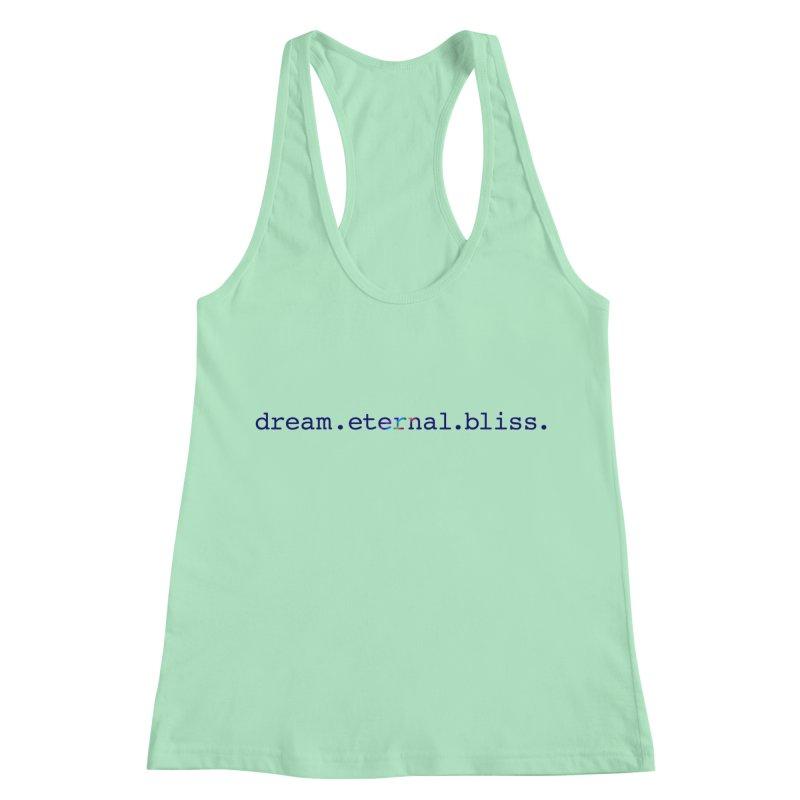 DEB Logo Women's Racerback Tank by Dream Eternal Bliss Merchandise