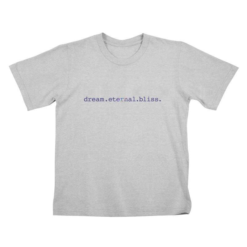 DEB Logo Kids T-Shirt by Dream Eternal Bliss Merchandise