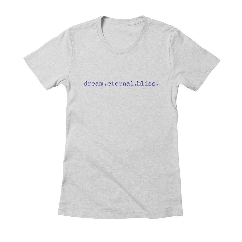 DEB Logo Women's Fitted T-Shirt by Dream Eternal Bliss Merchandise