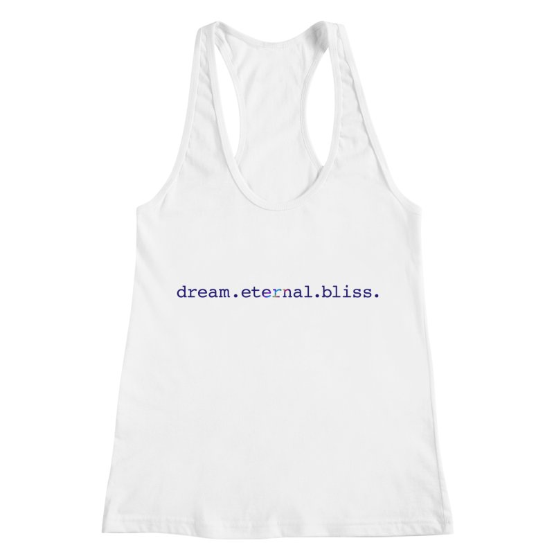 DEB Logo Women's Racerback Tank by Dream Eternal Bliss Merchandise