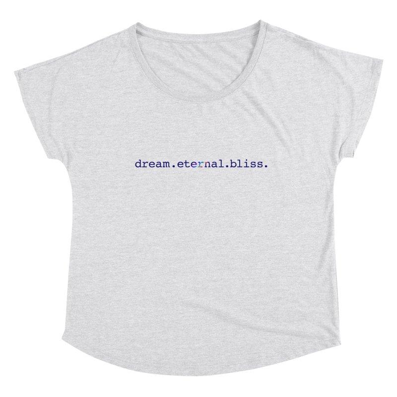 DEB Logo Women's Scoop Neck by Dream Eternal Bliss Merchandise