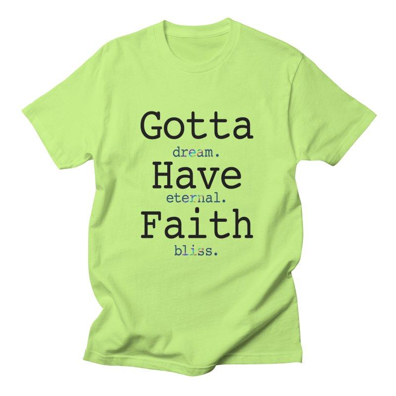 DEB and Faith Men's T-Shirt by Dream Eternal Bliss Merchandise