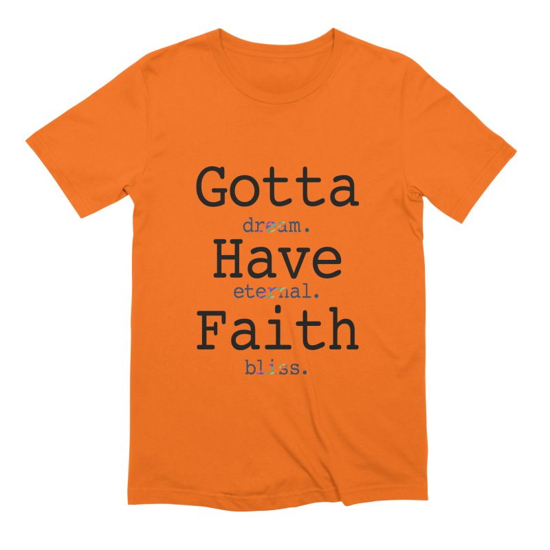 DEB and Faith Men's T-Shirt by Dream Eternal Bliss Merchandise