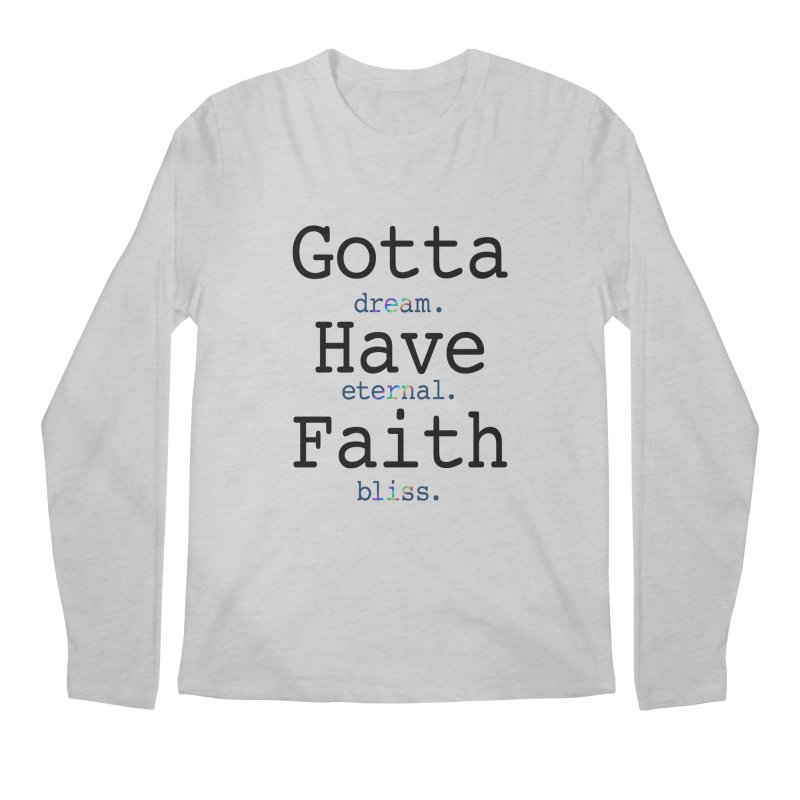 DEB and Faith Men's Regular Longsleeve T-Shirt by Dream Eternal Bliss Merchandise