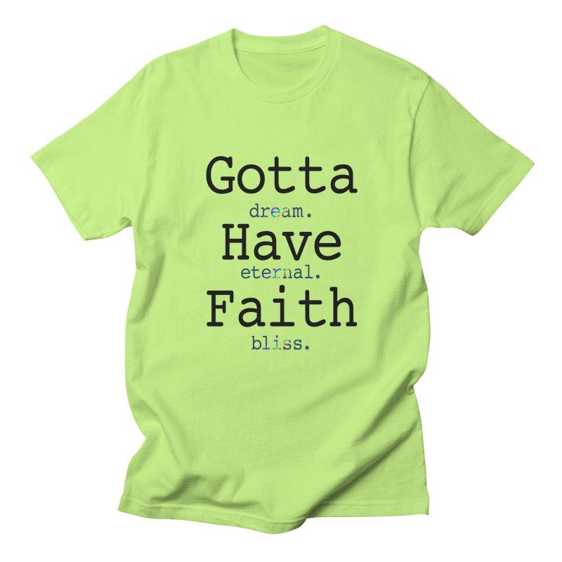 DEB and Faith Men's Regular T-Shirt by Dream Eternal Bliss Merchandise