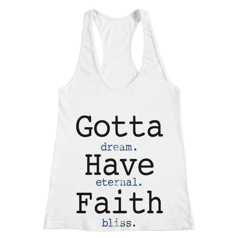 DEB and Faith Women's Racerback Tank by Dream Eternal Bliss Merchandise
