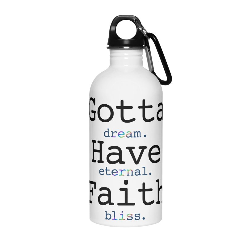 DEB and Faith Accessories Water Bottle by Dream Eternal Bliss Merchandise