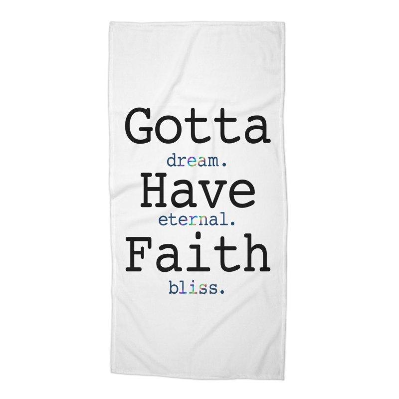 DEB and Faith Accessories Beach Towel by Dream Eternal Bliss Merchandise