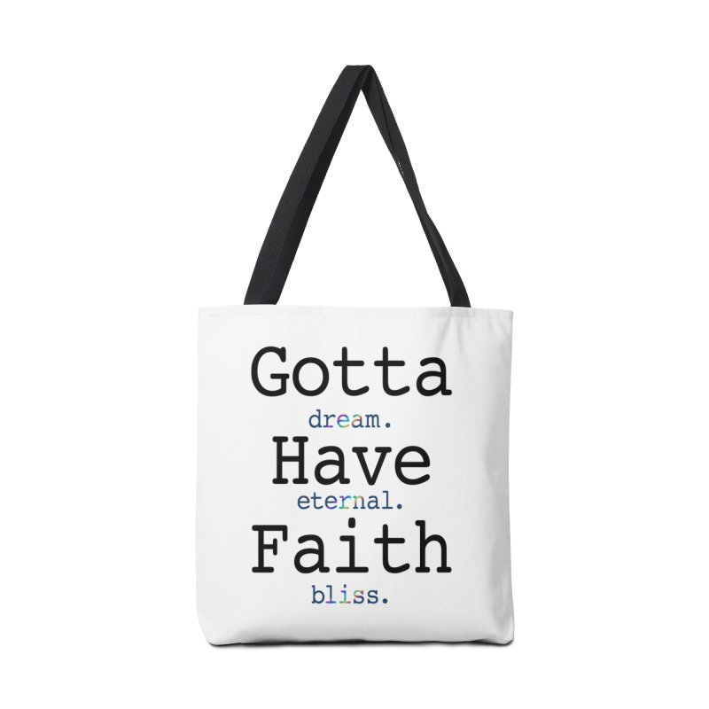 DEB and Faith Accessories Tote Bag Bag by Dream Eternal Bliss Merchandise
