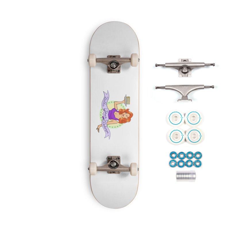 Debbie Logo Accessories Skateboard by debbiedoesdoberge's Artist Shop
