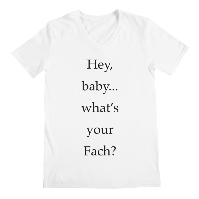 What's your Fach? Men's V-Neck by Debutee