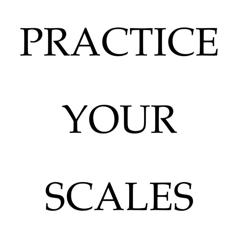 Scales (black text) None  by Debutee