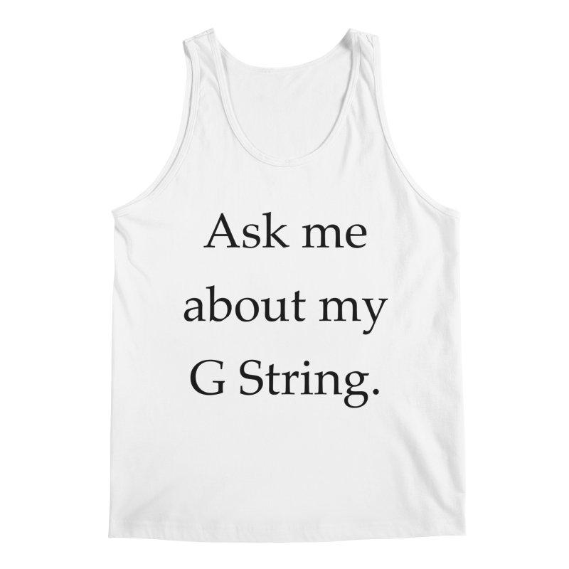 G String Men's Regular Tank by Debutee