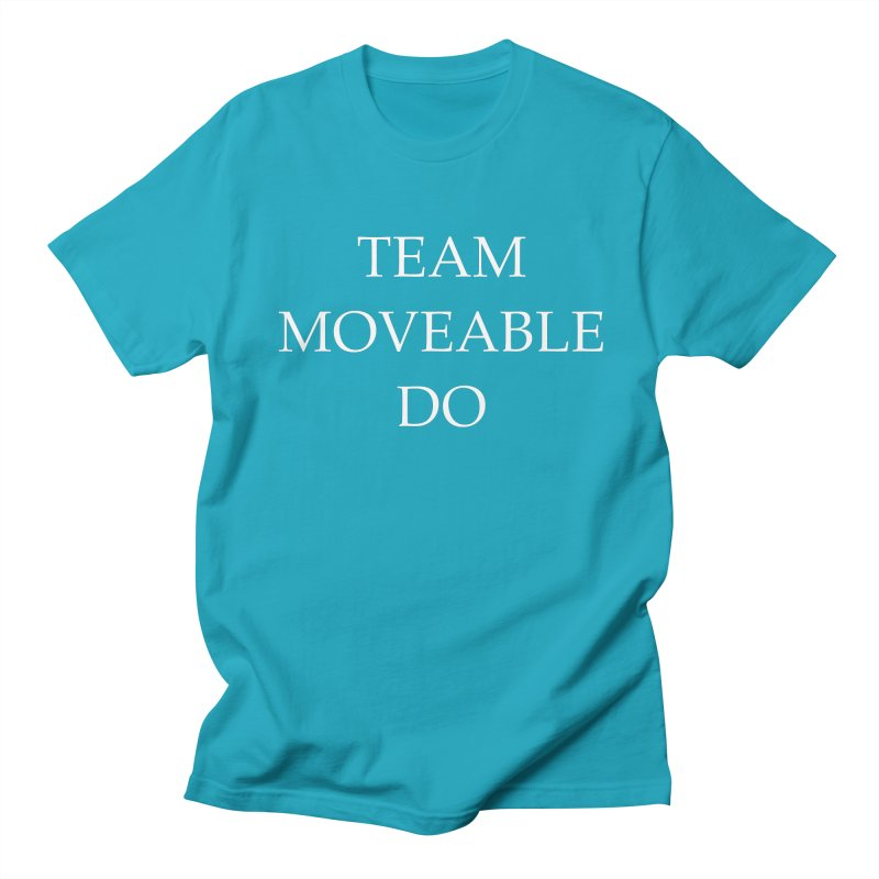 Team Moveable Do (white text) Men's Regular T-Shirt by Debutee