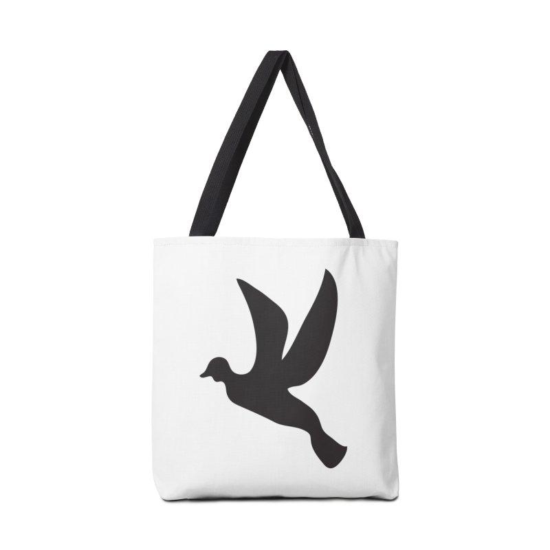 0007 Black Image 7 Accessories Bag by decomark's Artist Shop