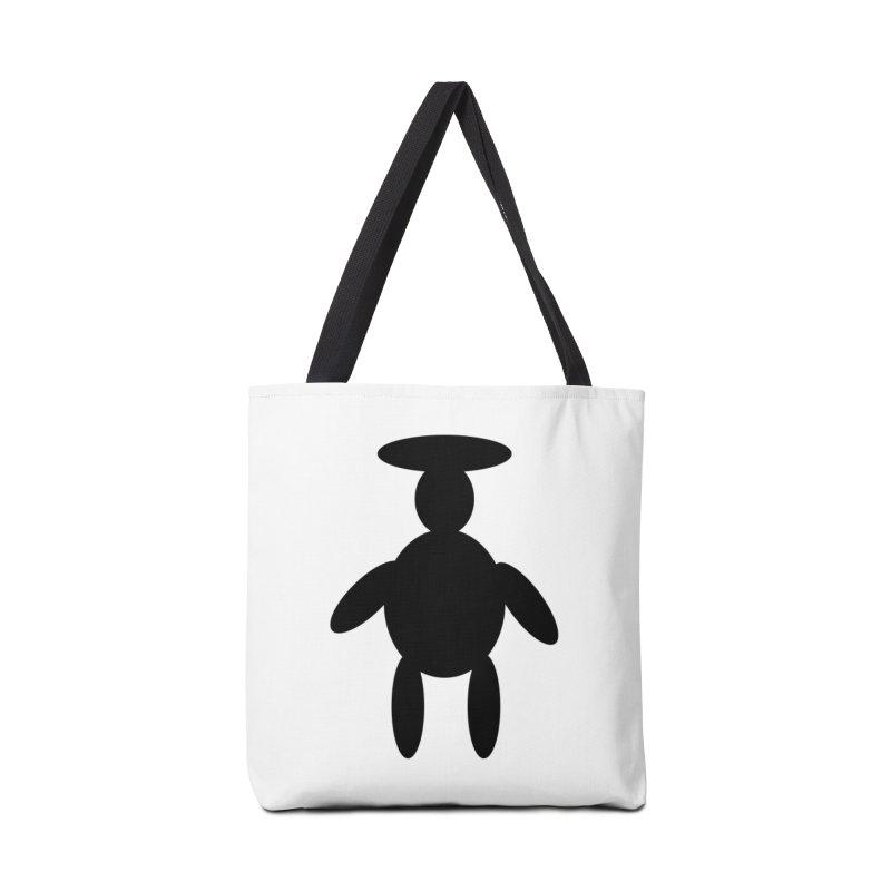 0001 Black Image 1 Accessories Bag by decomark's Artist Shop
