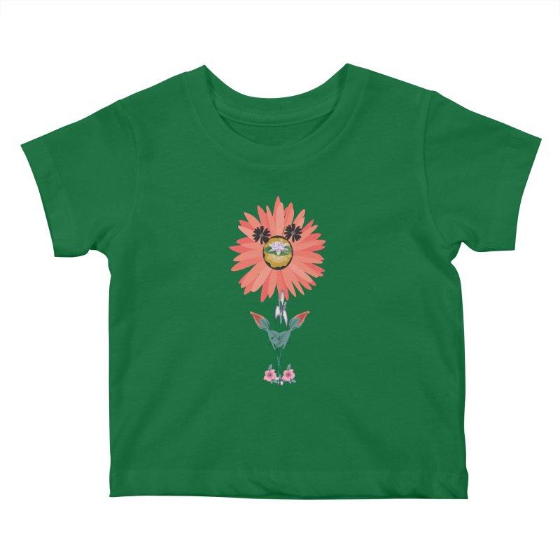 0001 Multi Color Image 1 Kids Baby T-Shirt by decomark's Artist Shop