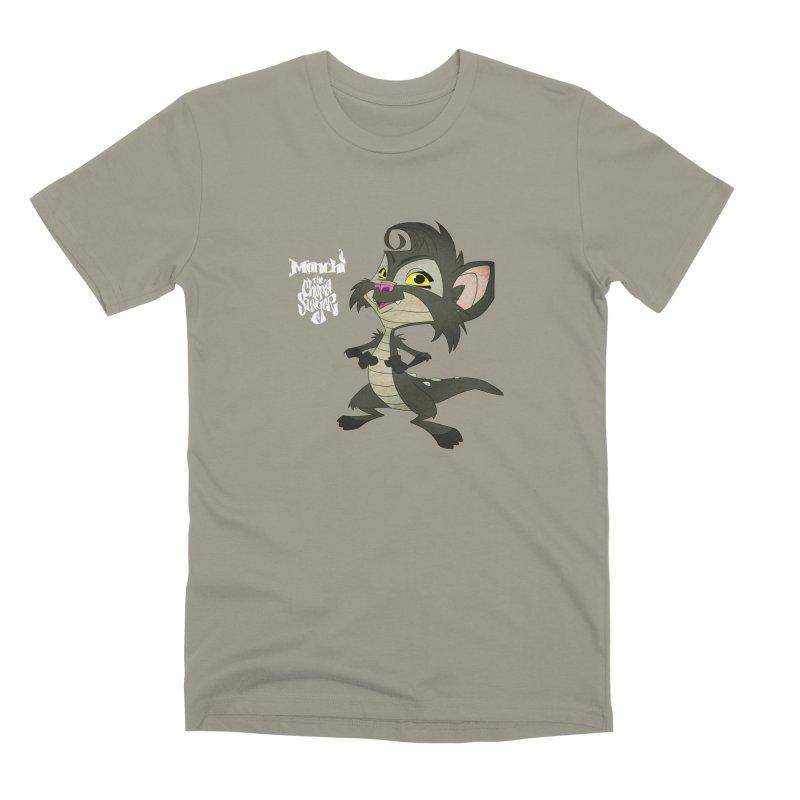 Monchi the Chupa Slayer Men's Premium T-Shirt by Dedos tees