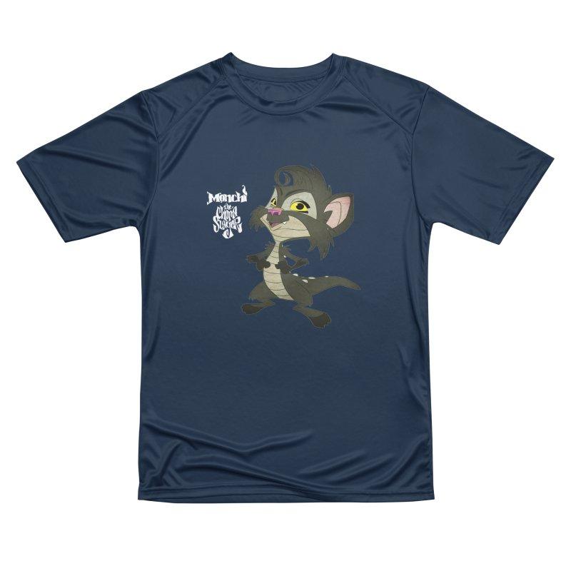 Monchi the Chupa Slayer Men's Performance T-Shirt by Dedos tees