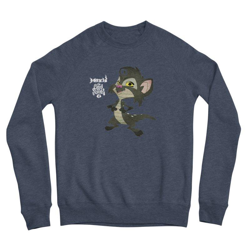 Monchi the Chupa Slayer Men's Sponge Fleece Sweatshirt by Dedos tees