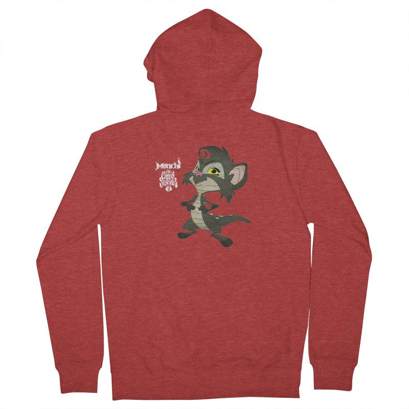 Monchi the Chupa Slayer Men's French Terry Zip-Up Hoody by Dedos tees