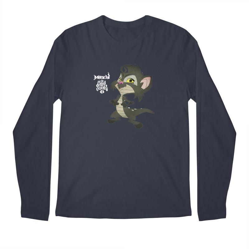 Monchi the Chupa Slayer Men's Regular Longsleeve T-Shirt by Dedos tees