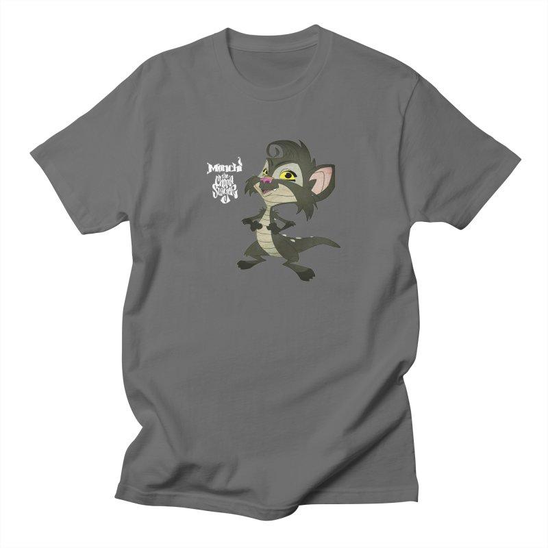 Monchi the Chupa Slayer Men's Regular T-Shirt by Dedos tees