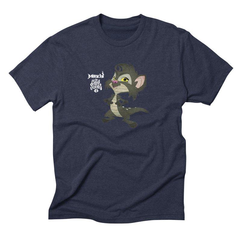 Monchi the Chupa Slayer Men's Triblend T-Shirt by Dedos tees