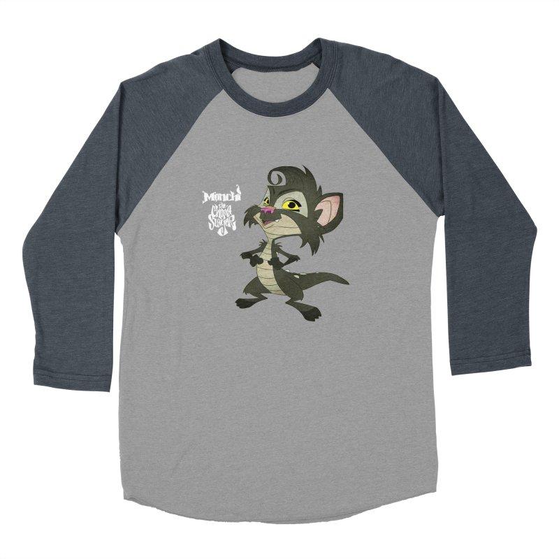 Monchi the Chupa Slayer Men's Baseball Triblend Longsleeve T-Shirt by Dedos tees